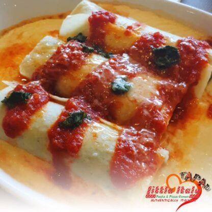 Cannelloni di Ricotta e Spinaci | Little Italy KK, Best pizza and pasta in Sabah !!